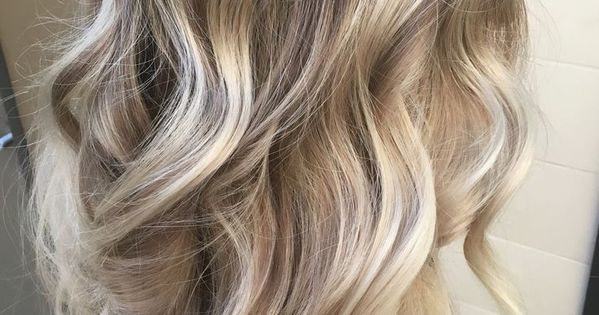 Cool Ashy Blonde Balayage Highlights With Neutral Shadow