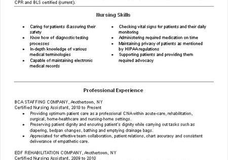 Nursing Resume And Nurse Life