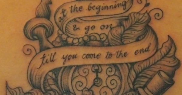 Alice In Wonderland Tattoo I Am Obsessed With Alice Tattoos At Repinned Net