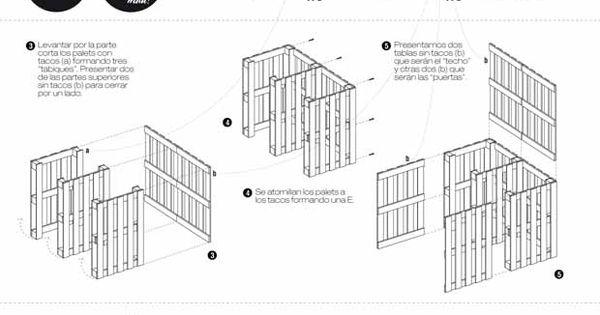 Muebles realizados con palets compostera todo con for Muebles palets pdf