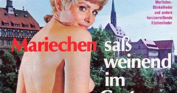 Various Mariechen Sass Weinend Im Garten Moritaten Bankellieder Und Andere Herzzerreissende Kuchenlie Greatest Album Covers Worst Album Covers Album Covers