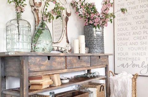 kindred vintage ikea norden sideboard makeover  Inspirational Spaces ...