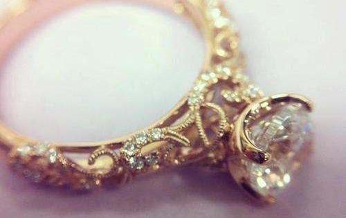 fairytale princess wedding ring.