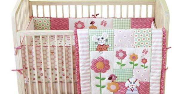 Tiny Tillia Crib Bedding Set
