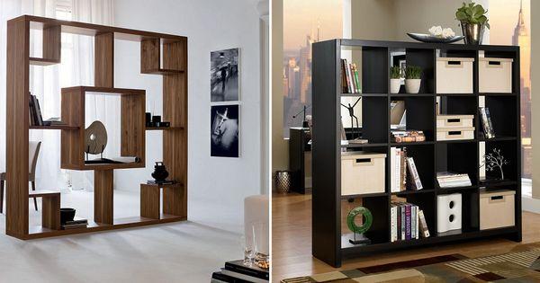 Mueble separador de ambientes salon pinterest for Mueble separador de ambientes