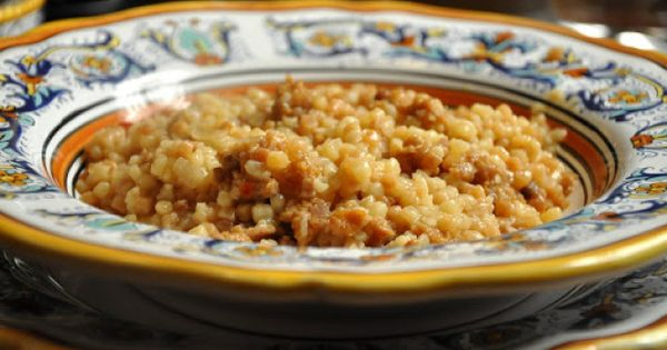 Couscous and Sausages on Pinterest