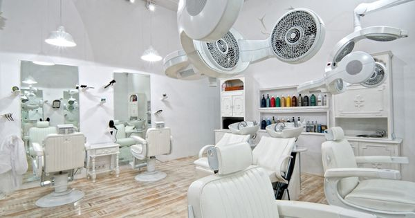 white salon chairs   HAIRDRESSER  Facto Royale Salon by Igor Ferreira   Lisbon store design   Spa Equipment   Tools   Pinterest   Home  Chairs and  Hair. white salon chairs   HAIRDRESSER  Facto Royale Salon by Igor