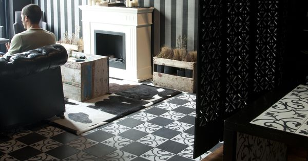 D cor classic noir a and lave from neocim collection by for Carrelage kerion
