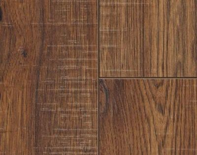 Home Decorators Collection Distressed Brown Hickory 12 Mm Thick X 6 1 4 In Wide X 50 25 32 In