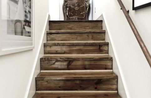 Best Gorgeous Reclaimed Barn Wood Stairs I Love The Look Of 400 x 300