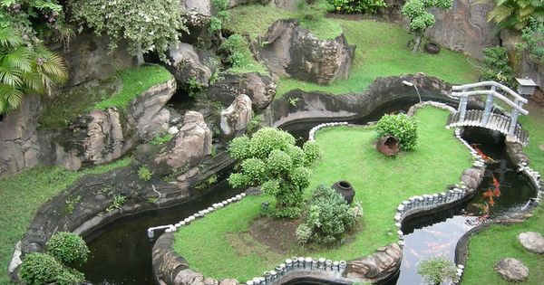 Koi pond wow cool things pinterest koi for Cool koi ponds