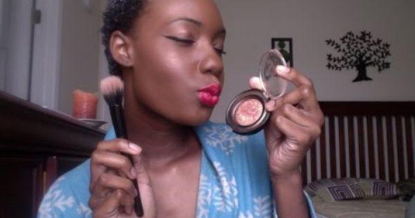 Strobing makeup...