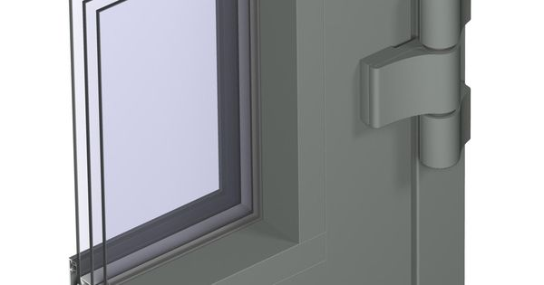 With the cs 104 window and door system reynaers achieves for Window insulation values