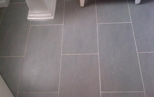 U S Ceramic Tile Avila 24 In X 12 In Gris Porcelain Floor And Wall Tile 1