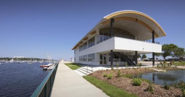 The Milwaukee Community Sailing Center By Hga Architects And