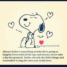 Image Result For Cheerful Thought For The Day Snoopy Quotes