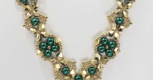 Deb Roberti's Craving Crystal Necklace | Beading ...