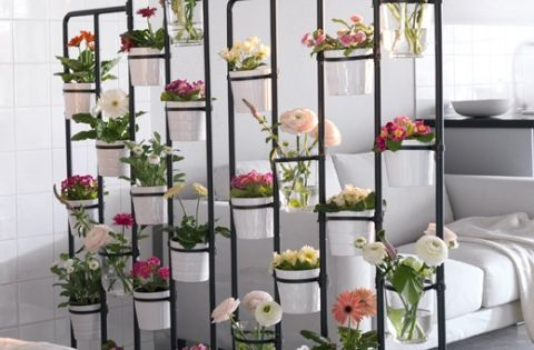 This Inexpensive Ikea Plant Stand Is Great For A Room Divider Inside Or Outside Plant Stands