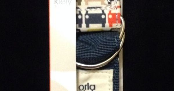 Orla Kiely Small Cars Luggage Strap Travel Multi New