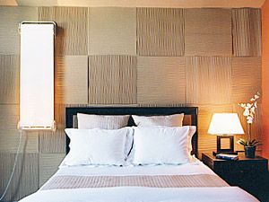 Covered In Different Paints Fabrics Or Even Just The Same Paint Would Make An Awesome And Cheap Renta Wall Paneling Diy Cheap Wall Covering Fabric Wall Panels