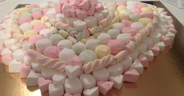 Torta Di Marshmallow Torte Di Compleanno Pinterest
