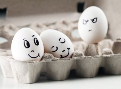 How to Stop Being Jealous of Other People's Success | Funny eggs, Jealousy,  Egg art