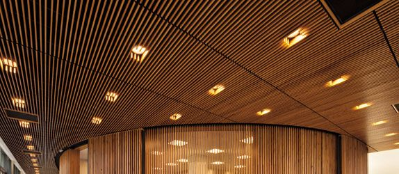 Woodworks Grille By Armstrong Ceilings More Surface Area