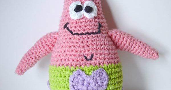 Free Crochet Pattern Patrick Star : Crochet Patrick Star by ~meekssandygirl on deviantART ...