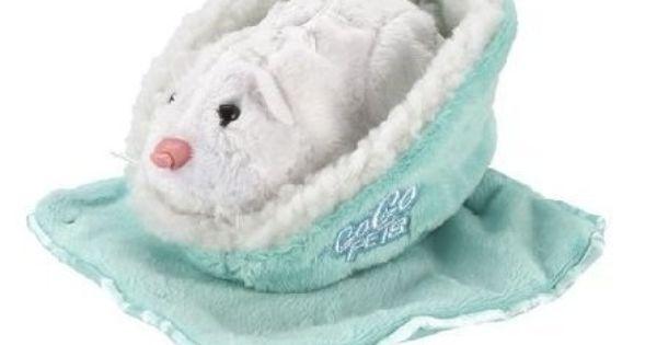 Zhu Zhu Pets Blue Blanket And Blue Bed By Cepia Llc 9 77