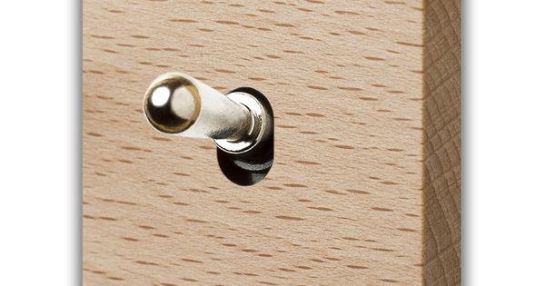 le bois cr ation d sir produits interrupteur laiton. Black Bedroom Furniture Sets. Home Design Ideas