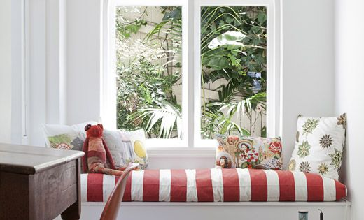 Window seat: The beautiful Sydney home of Vanessa Steele and Peter Braig.