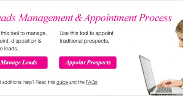 Leads Management And Appointment Processing Tools With Images