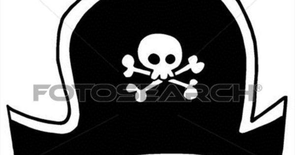Black Pirate Hat Clipart K6432385 Pirate Hats Pirates Hats