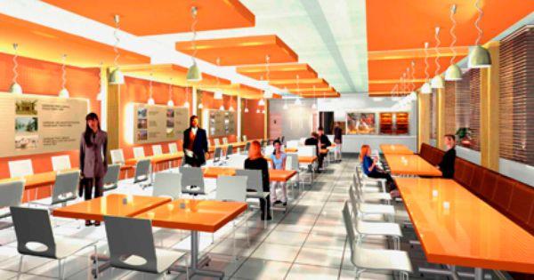 Muebles para comedores de empleados moblibar