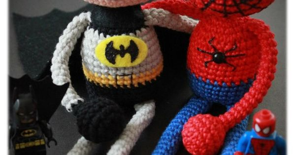 Free Amigurumi Spiderman Pattern : Amigurumi spiderman free crochet pattern Free amigurumi ...