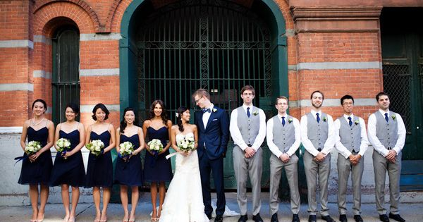 Winter Wedding Groomsmen Gift Ideas : ... Lauren Gabrielle Photography Groomsmen, Navy tux and Winter weddings