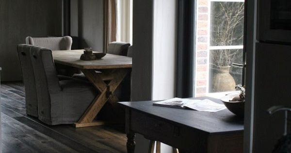Rustic living gj for Bieke vanhoutte interieur