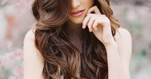 Hairstyles for Long Hair | Long Brown Hair with Subtle Curls