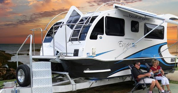BoatAhome.com.au | Boatahome - Trailerable Houseboats ...