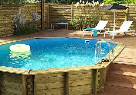 piscine semi creusee recherche google ext rieur pinterest pools decks and above ground pool. Black Bedroom Furniture Sets. Home Design Ideas