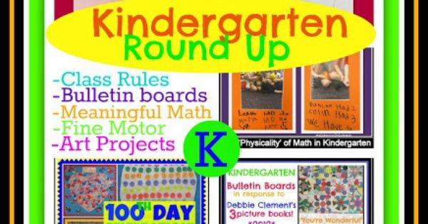 RainbowsWithinReach: Kindergarten Memories Scrapbook RoundUP Bloghop