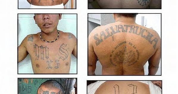 U les mexican gang tattoos identification guide public for Mexican prison tattoos