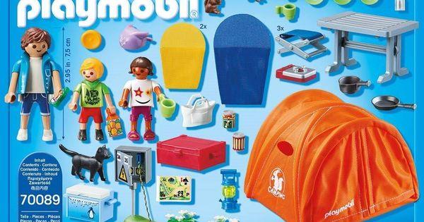 Novedades Alemania Enero Julio 2019 Campamento Familiar Juguetes Playmobil