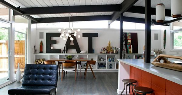 Jessica & Jonathan's 'Like-Eich' Ranch via Apartment Therapy