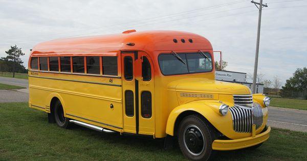 1946 Chevrolet School Bus Quot Sokool Bus Quot School Buses