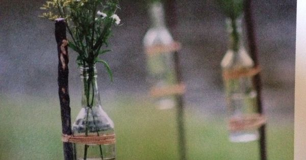 Great idea for outdoor gatherings and weddings!! | Backyard Ideas