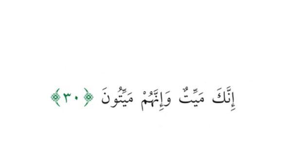 صور ايات قرانية عن الموت Sowarr Com موقع صور أنت في صورة Quran Arabic Calligraphy Islam