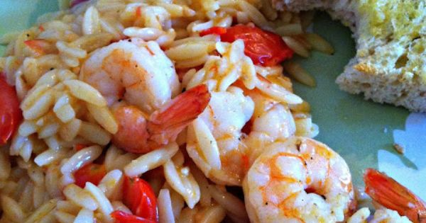 Orzo, Skillets and Shrimp on Pinterest