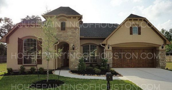 Stucco Exterior House Color Schemes House Painting Of