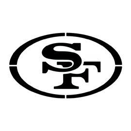 Nfl San Francisco 49ers Stencil Nfl San Francisco San Francisco 49ers San Francisco 49ers Logo